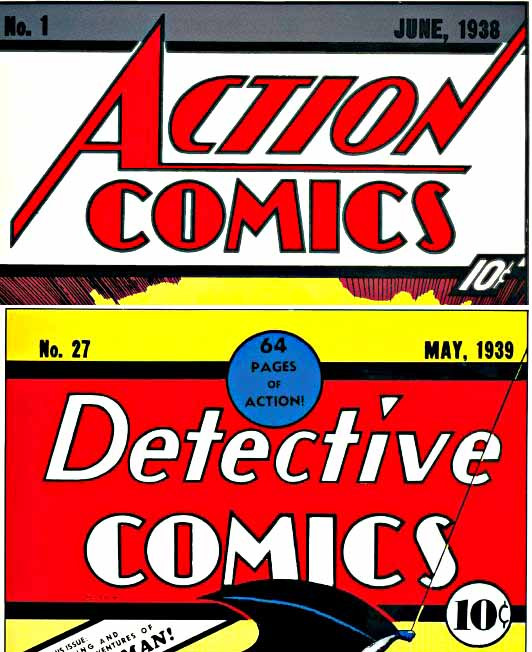 Action and Detective logos